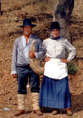 Trajes Tradicionais - Associação Cultural e Recreativa das Barrosas - Salir  - Loulé - Algarve 2db7879c135